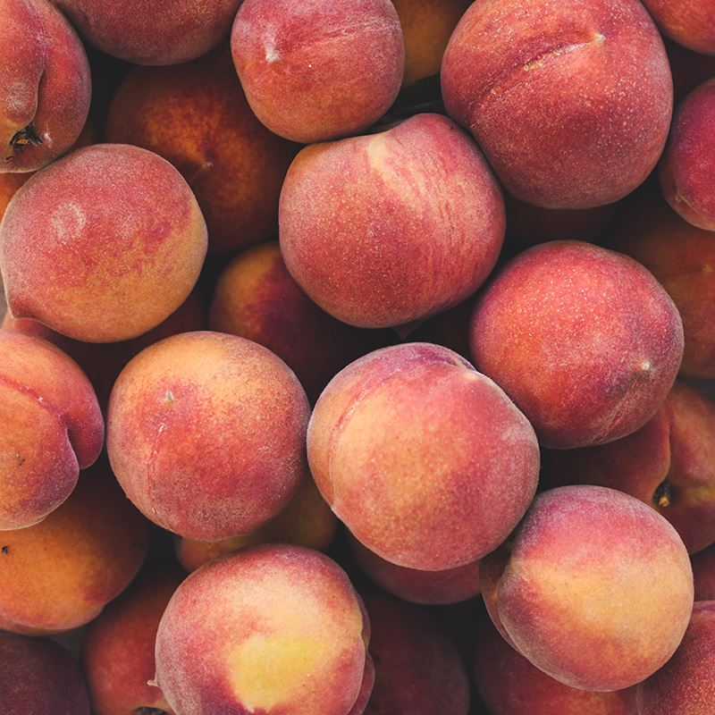 Organic Yellow Peaches, Shipped, Delivery, Home