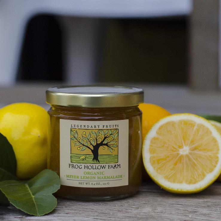 Organic Meyer Lemon Marmalade, Fruit Spread