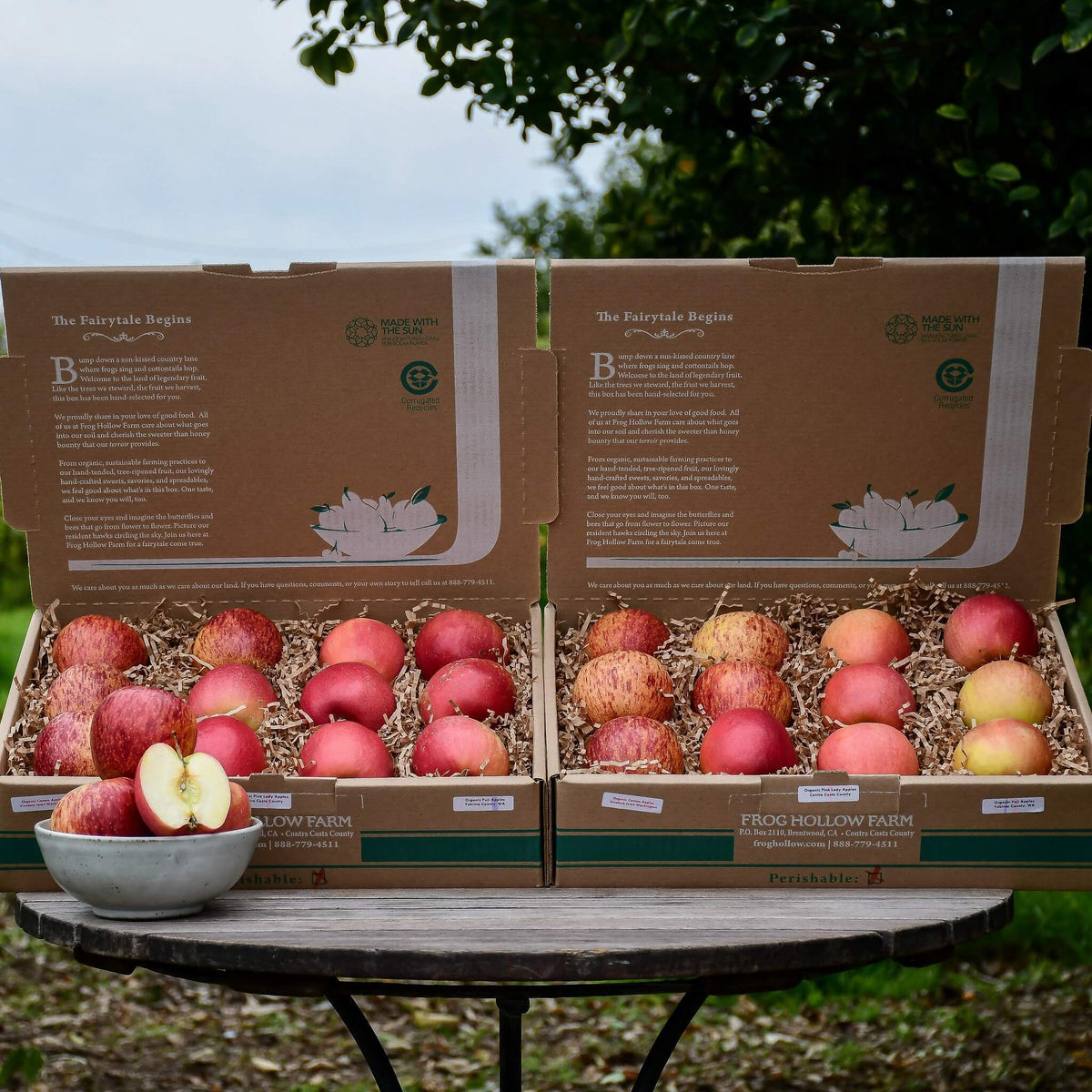 Organic Mixed Apples