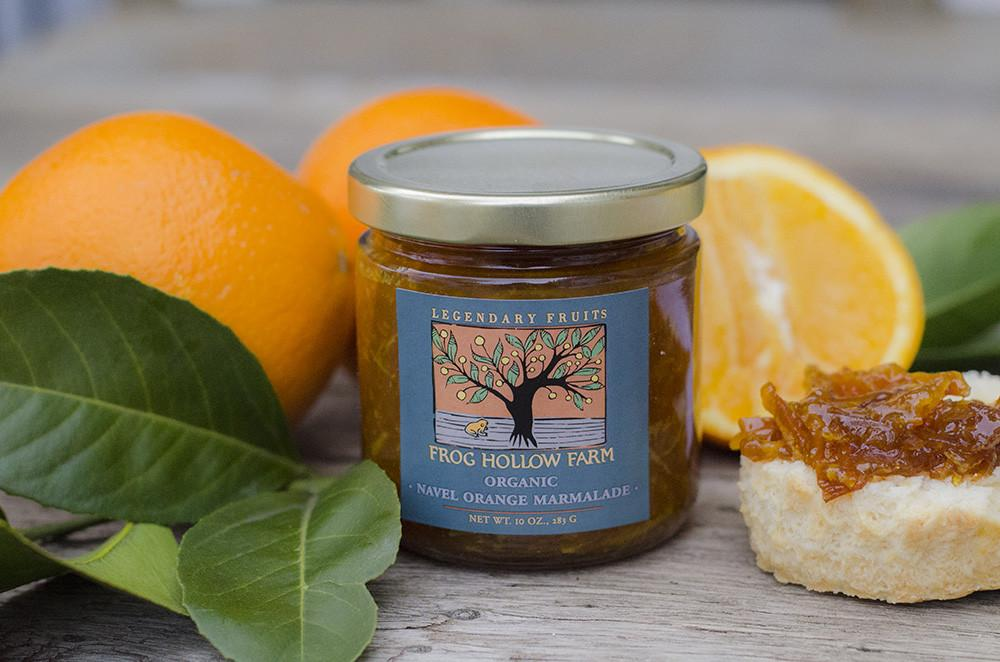 Navel Orange Marmalade | Organic Jam