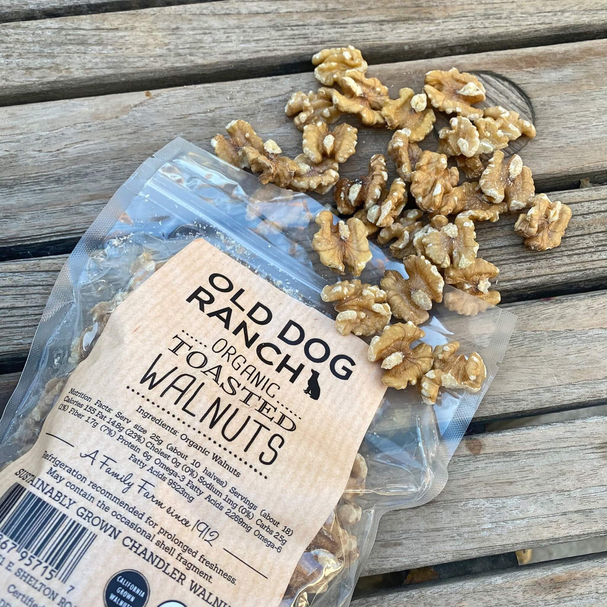 Organic Toasted Walnuts