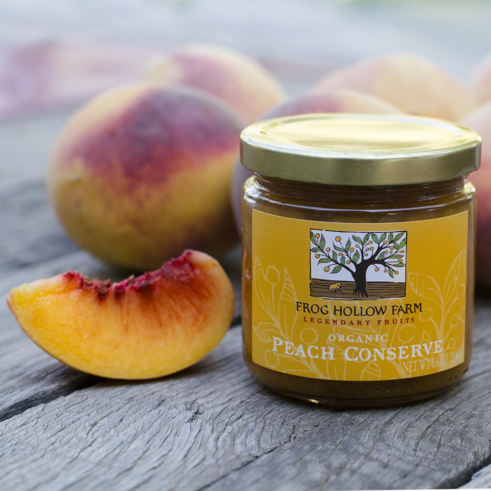 Peach Conserve | Organic Fruit Spread