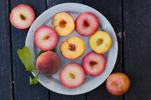 Load image into Gallery viewer, Organic Peach & Pluot Combo Box | Fruit Boxes