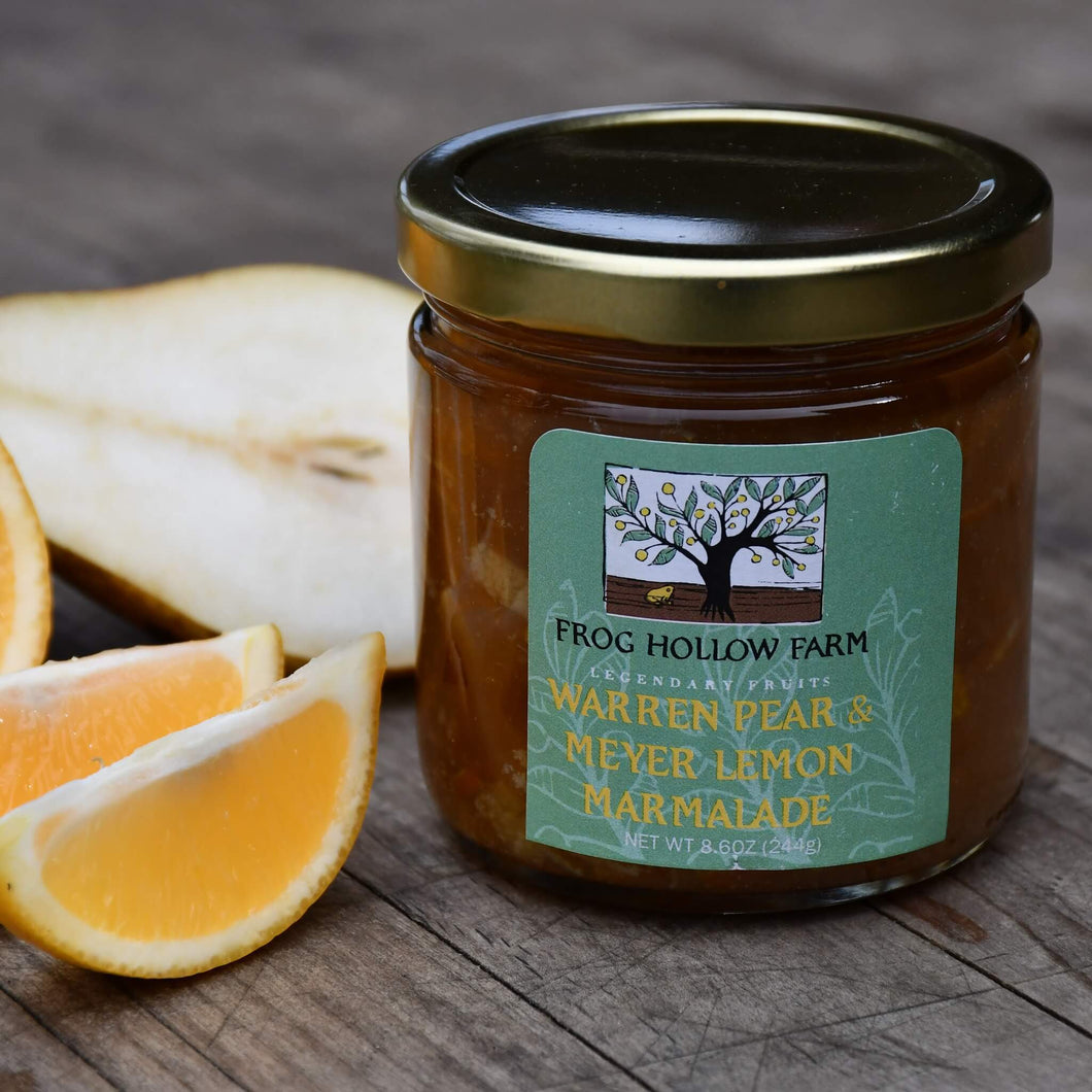 Organic Warren Pear & Meyer Lemon Marmalade