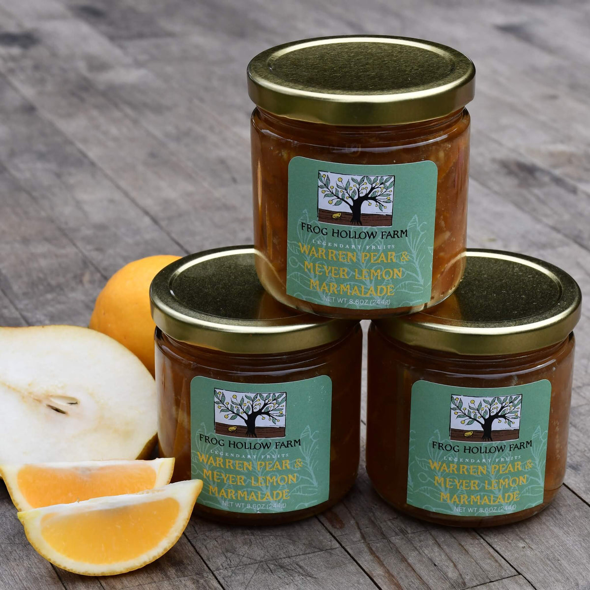 Warren Pear & Meyer Lemon Marmalade