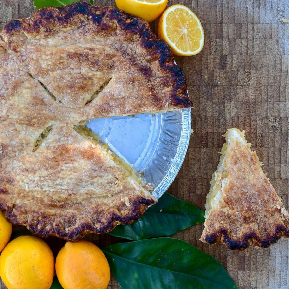 Shaker Meyer Lemon Pie