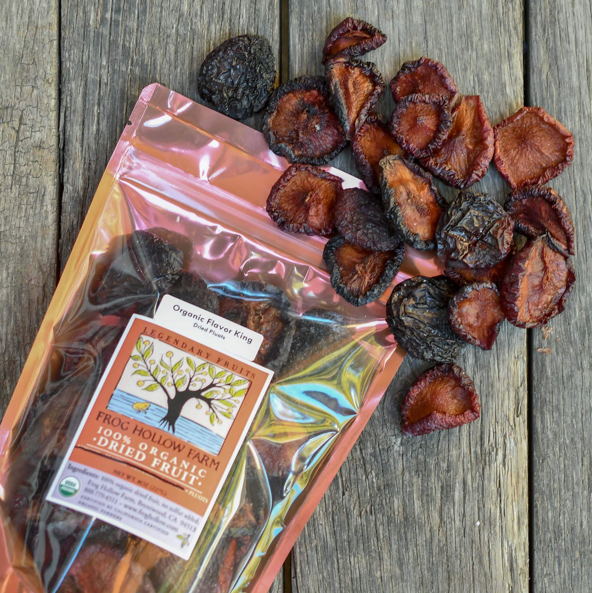 Organic Sun-Dried Flavor King Pluots