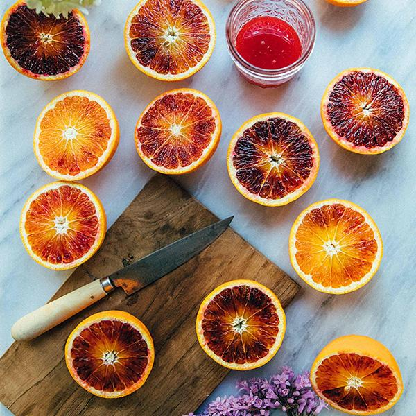 Organic Blood Oranges, Fruit Delivery