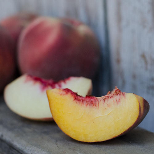 Organic Yellow & White Peaches | Organic Peaches
