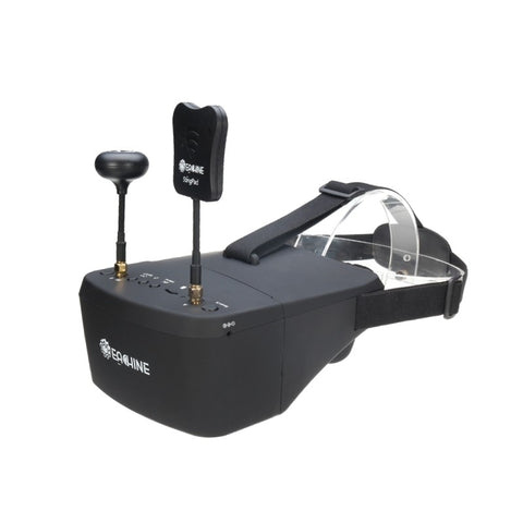 Video Headset HD DVR With Battery For RC Model - Eachine EV800D 5.8G 40CH 5 Inch 800*480