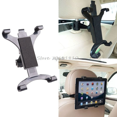 Car Headrest Mount Holder Stand For 7-10 Inch Tablets & GPS