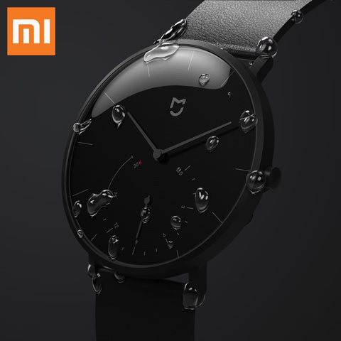 XIAOMI Mi Mijia QUARTZ Smart Watch Life Waterproof with Double Dials, Alarm, Sport Sensor & Mi Home APP