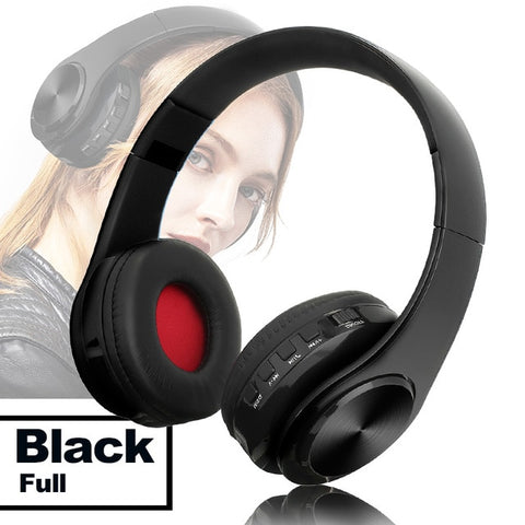 TOMKAS Bluetooth Headphones Wireless Stereo With Microphone