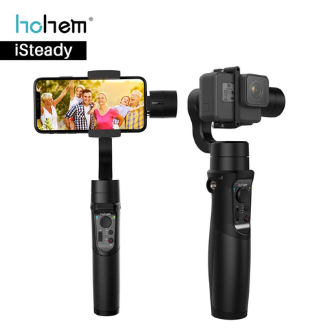 Hohem iSteady Pro Mobile Plus 3 Axis Stabilizer for iPhone, Android & Gopro Cameras