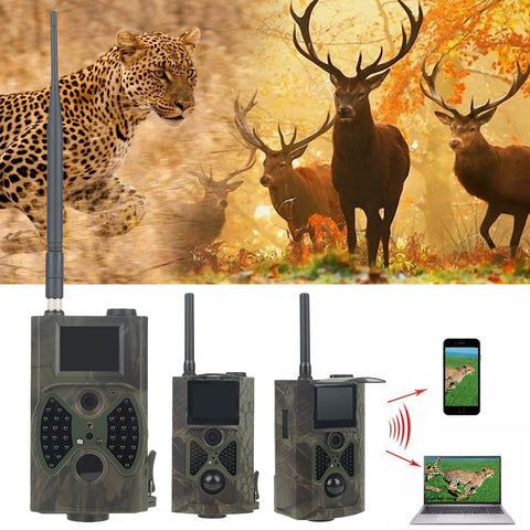 Full HD 12 Mega Pixels Night Vision Infrared Camera HC-300M for Trail Hunting