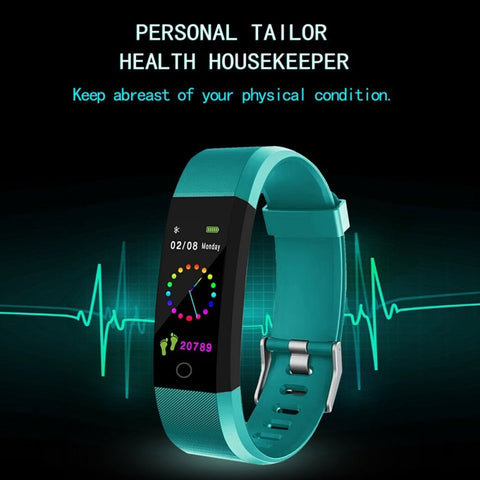 Heart Rate & Blood Pressure Fitness Tracker