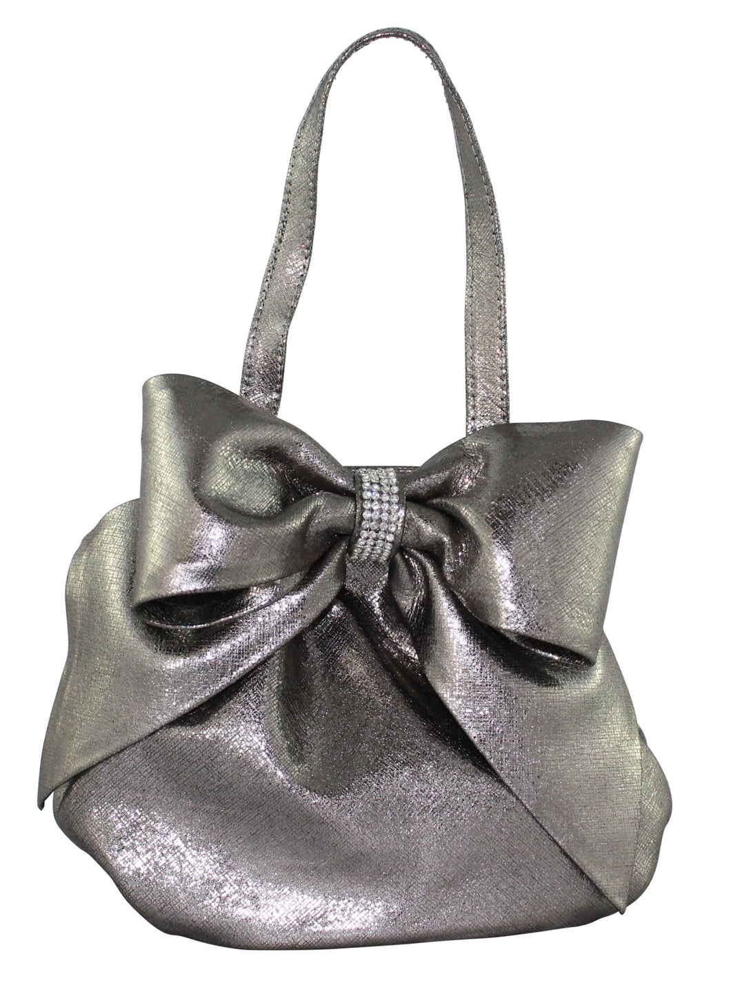 Gunmetal Evening Handbag