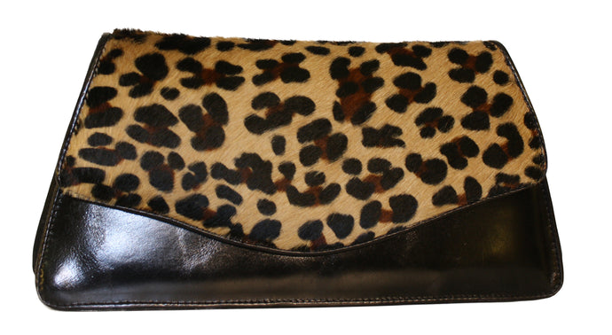 Leopard Animal Print Clutch