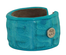 Crocodile Leather Cuff