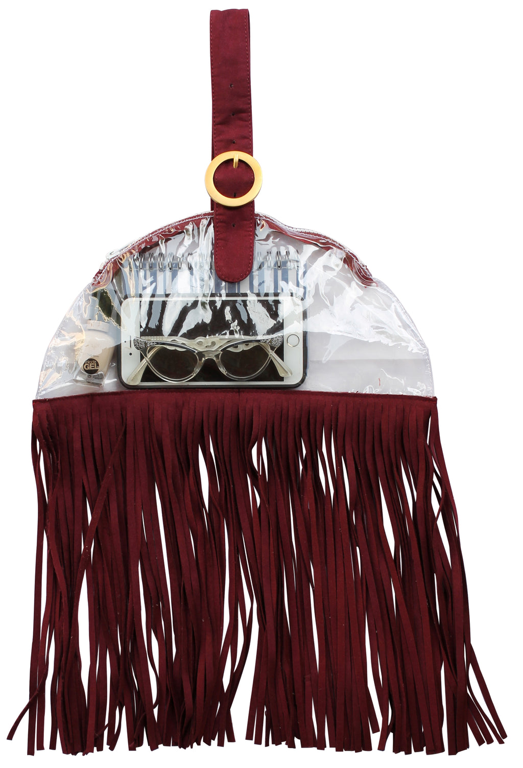 Game Day Stadium approved bag, clear bags, plastic handbags maroon, Game Day Bag, clear bags, football game day bags, clear handbags