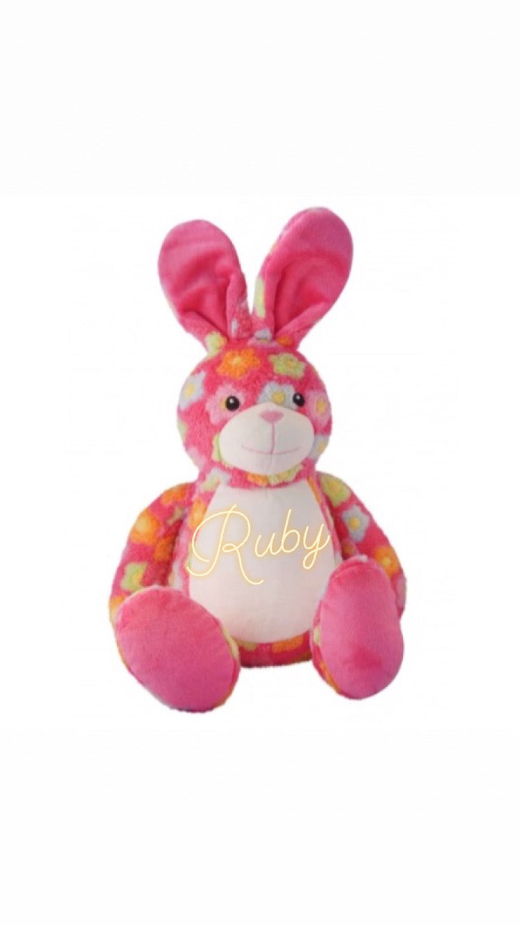 Personalised Soft Toys - Bunny Rabbit