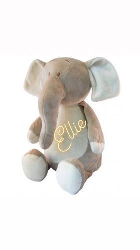 Personalised Soft Toy - Elephant