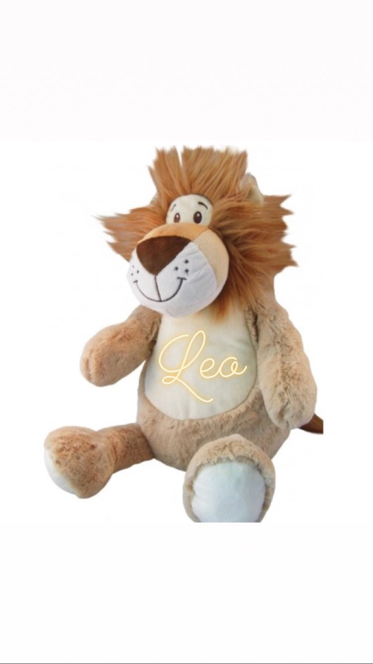 Personalised Soft Toys - Lion