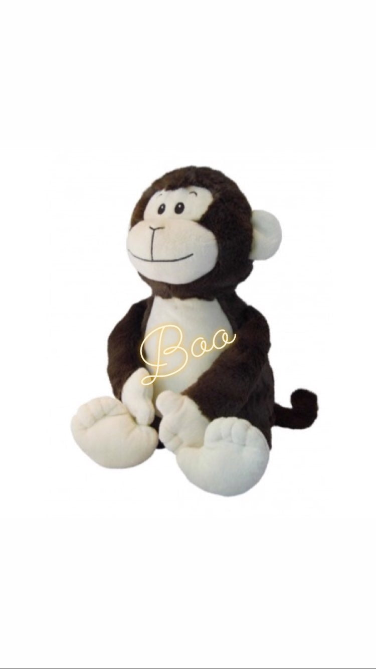 Personalised Soft Toys - Monkey