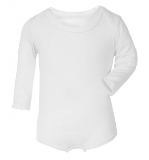 Personalised Long Sleeved Bodysuit
