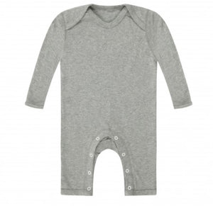 Personalised Footless Baby Rompersuit