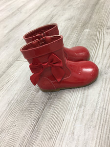 Red Bow Boots