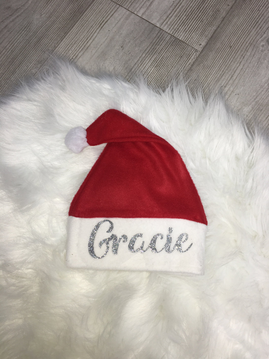 Personalised Baby Santa Hat