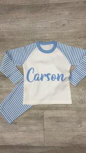 Personalised NAME pyjamas
