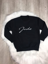 Signature Personalised sweater