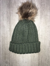 Junior pom pom hats
