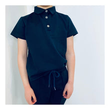 Navy short sleeve deluxe tracksuit