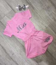 Personalised Girls Playsuit