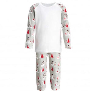 Personalised Candy Cane Pyjamas