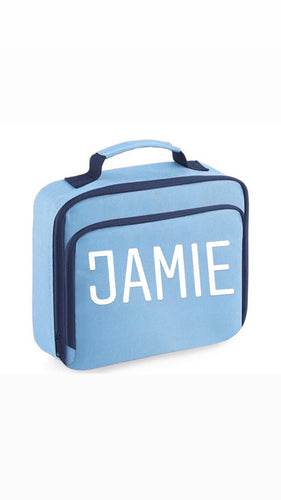 Personalised pack lunch box