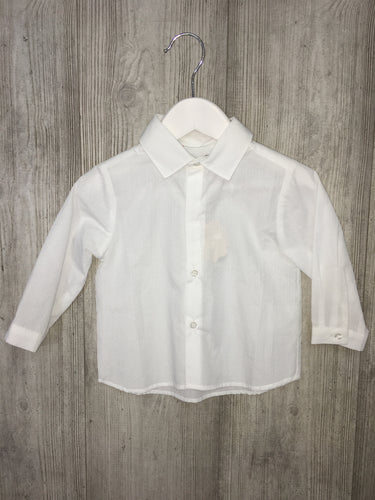 Boys white patachou shirt