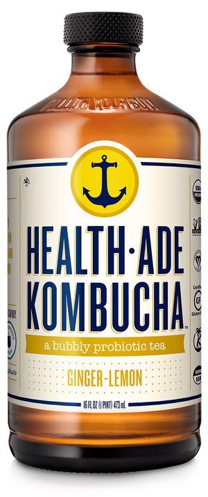 Health Ade Ginger - Lemon Kombucha