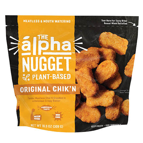 Chik'n Vegan Nuggets - The Alpha Nugget