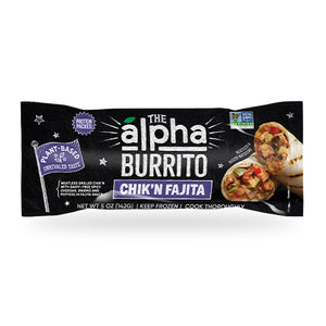 Chik'n Vegan Fajita Burrito - The Alpha Burrito Case of 12