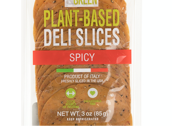Vegan Spicy Deli Slices - 100% Plant Based - Good & Green