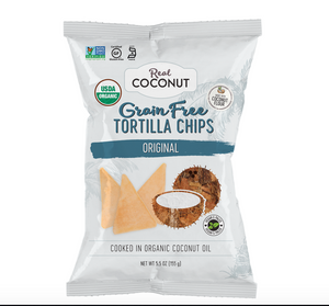 Tortilla Chips - Original - The Real Coconut
