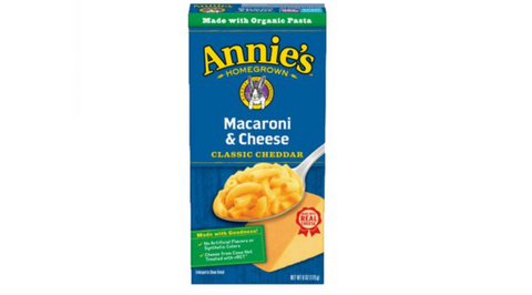 Annie's Organic Mild Cheddar Macaroni and Cheese