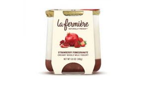 Strawberry Pomegranate Yogurt - La Fermière