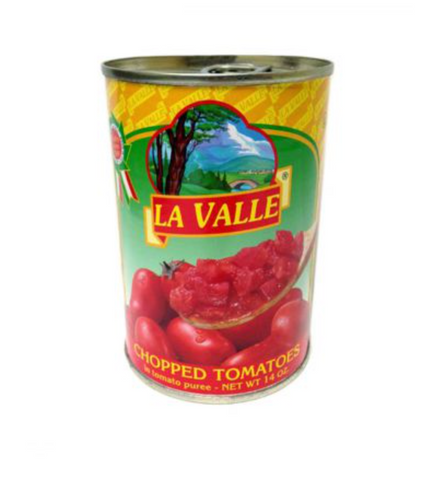 Canned Chopped Tomatoes - La Valle