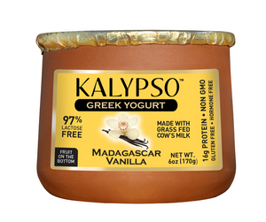 Kalypso Greek Yogurt - Madagascar Vanilla 6 oz