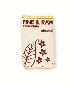 Fine & Raw Chocolate Square - Almond Chunky